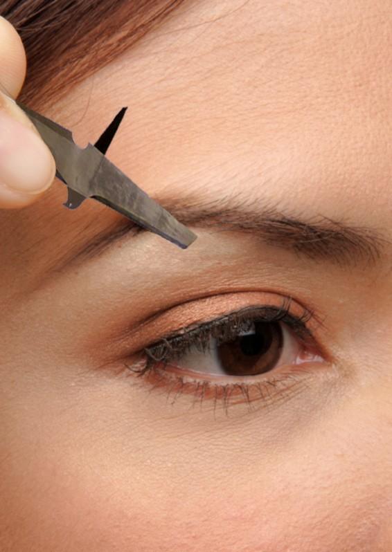 Как выщипать брови и придать красивую форму