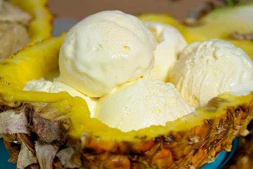 Как сделать домашнее ананасовое мороженое