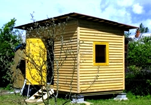 How to build a shed correctly