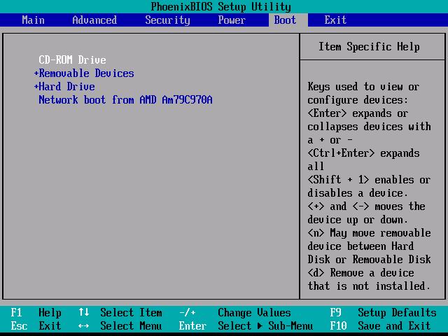 Как выйти в BIOS на ноутбуке Acer