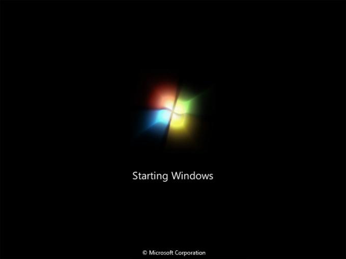 Как установить экран загрузки Windows