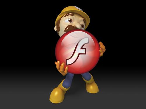 Как делать анимацию через flash