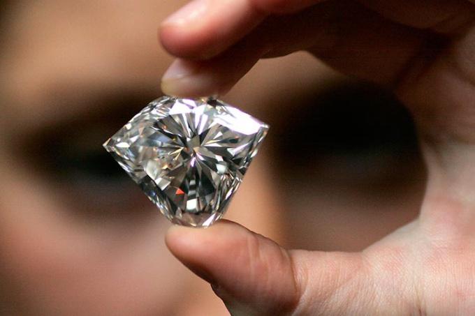 Как определить каратность у бриллианта