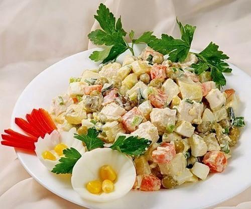 """Как приготовить салат """"Столичный"""""""