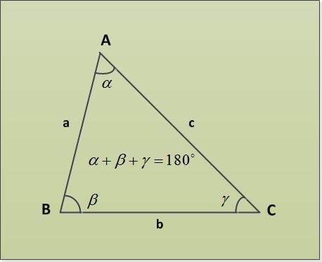 Как найти третий угол в треугольнике