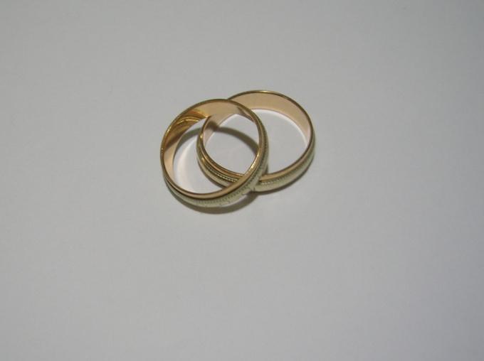 Как освятить кольца