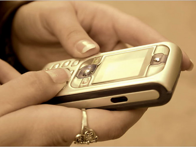 How to write SMS to mobile phone