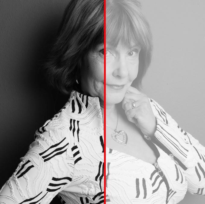 Как сделать слой полупрозрачным в Photoshop