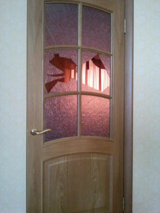 Как заменить разбитое стекло