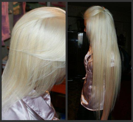 How to dye hair extensions