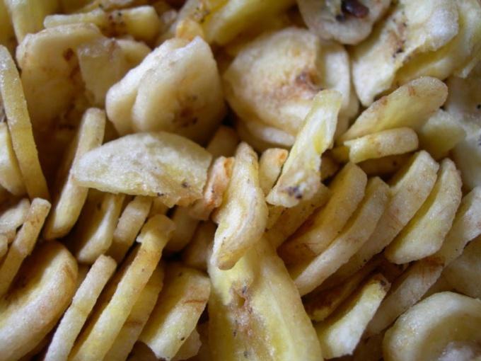 Как сделать банановые чипсы