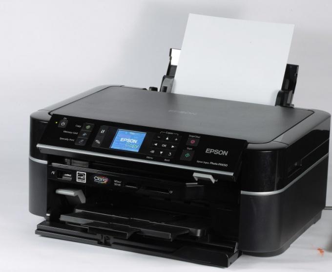 Как предпочесть принтер Epson