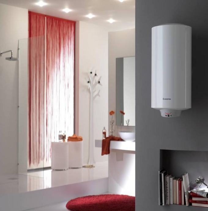 "How to connect a water heater ""Ariston"""