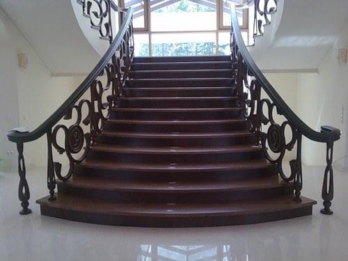 Как залить лестницу