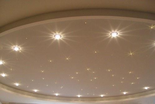 Как рассчитать число точечных светильников