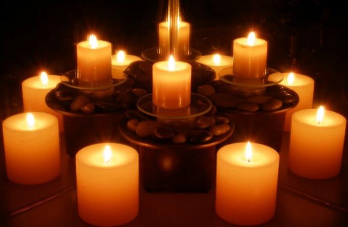 Как дарить свечи