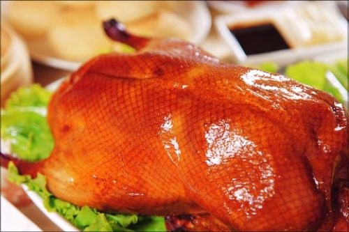 How to decorate duck dishes