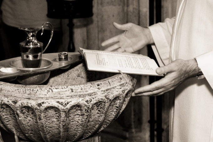 How to conduct a christening