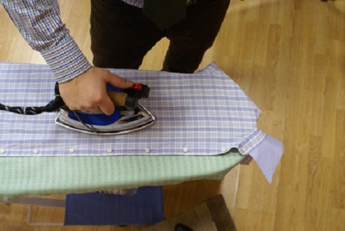 How to clean a trace of iron
