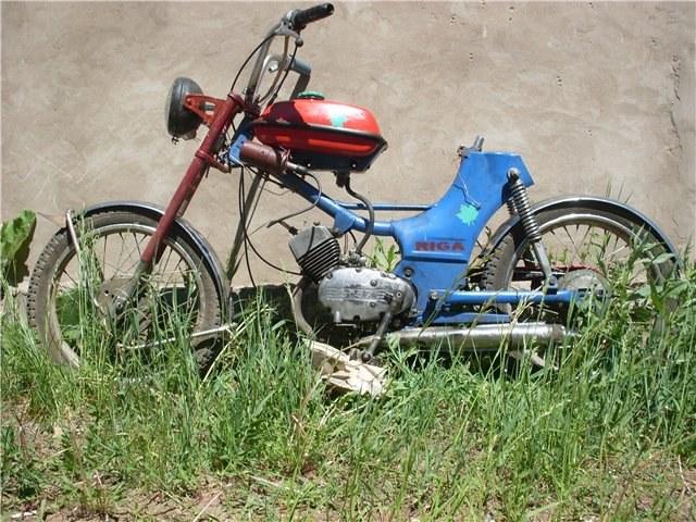 Как сделать из велосипеда мопед :: велосипед мопеды :: Авто :: Другое