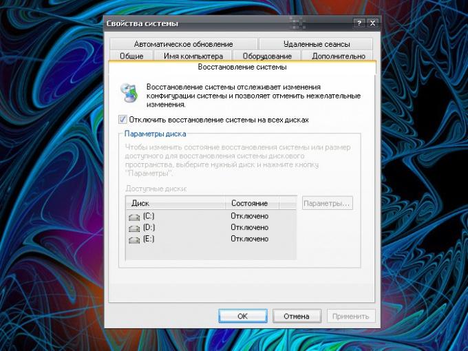 Как восстановить операционную систему на диске С