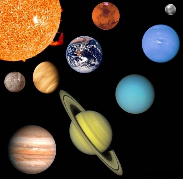 Как нарисовать солнечную систему