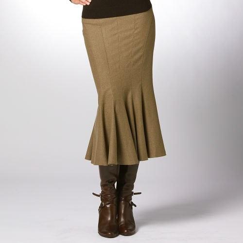 Как сделать выкройку юбки годе