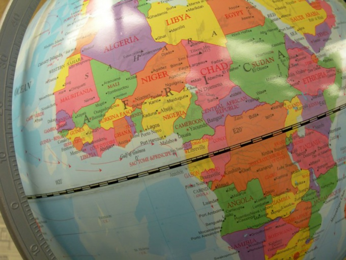 Как найти широту и долготу на карте