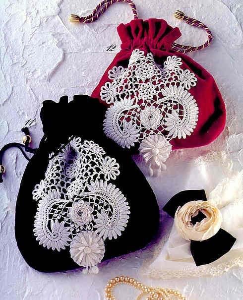 How to knit Irish lace