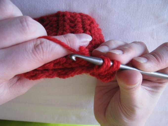 How to knit air columns