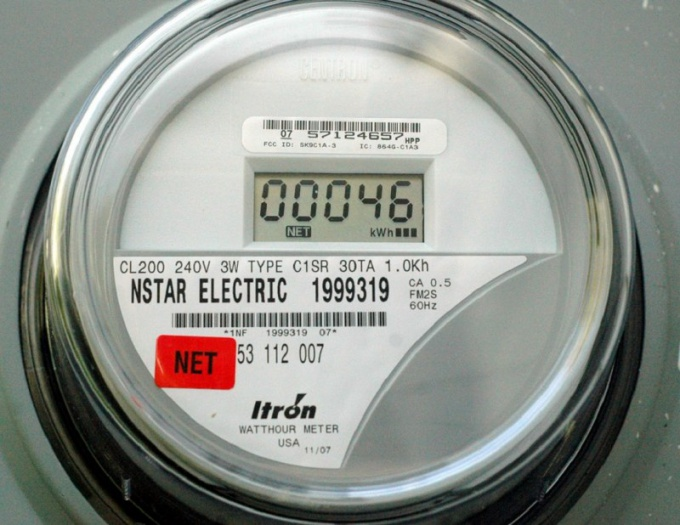How to transmit the meter readings for electricity