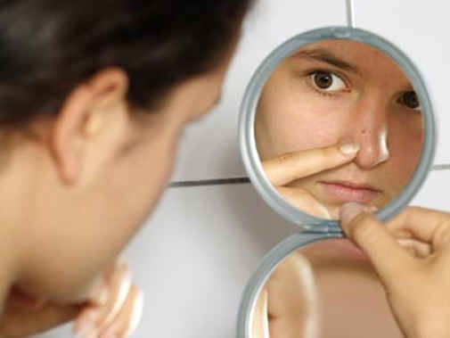 How to get rid of acne with improvised means
