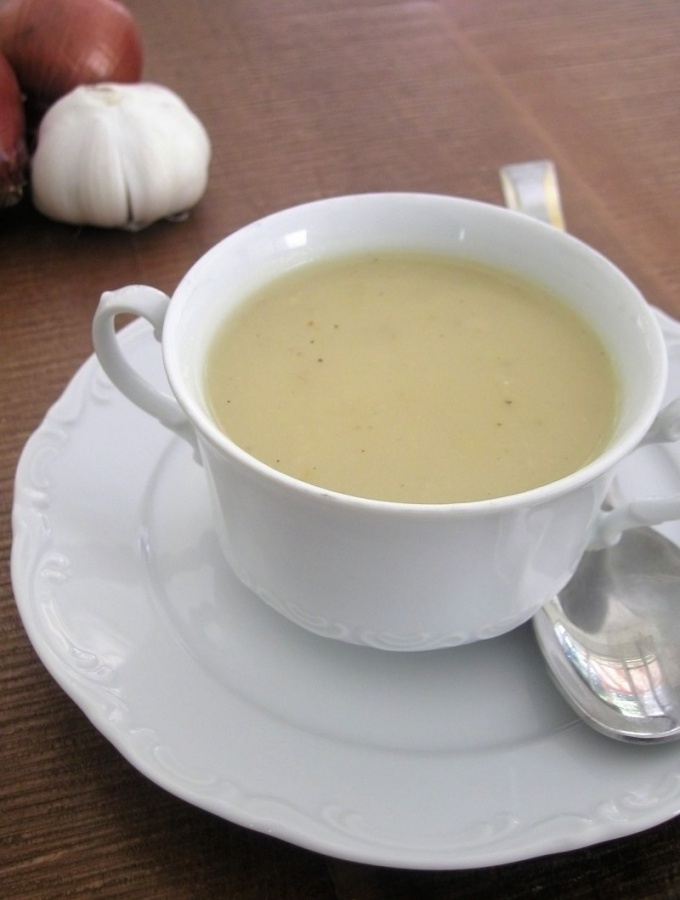 Как делать сырный суп