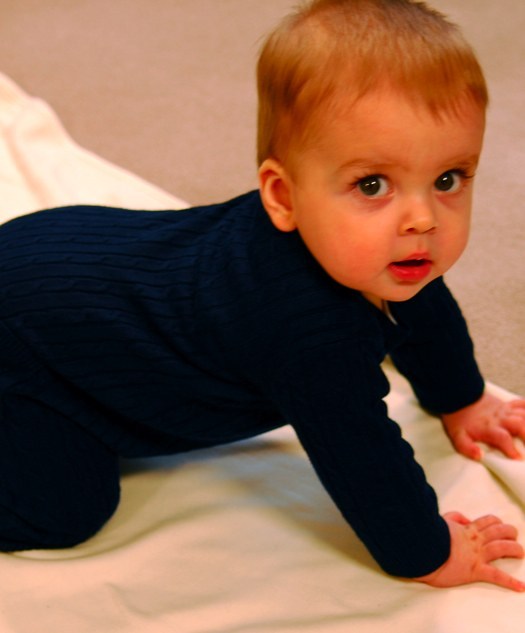 How to knit a Romper for a newborn