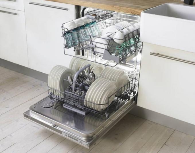 Как навесить фасад на посудомоечную машину
