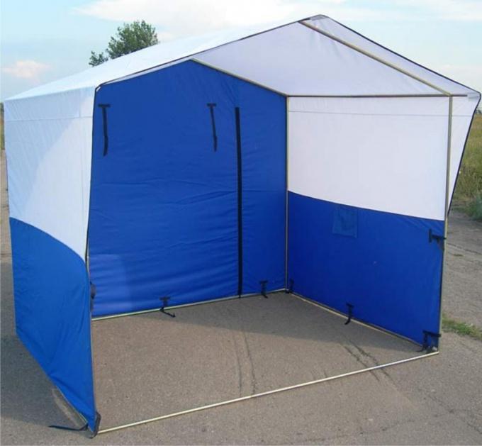 Как оформить палатку