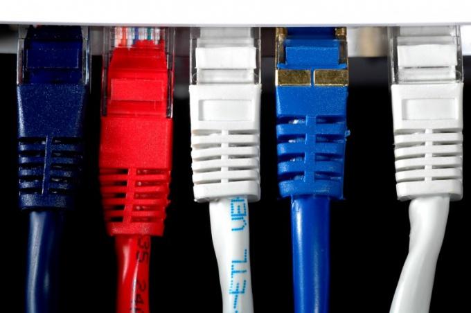 Как разделить две сети