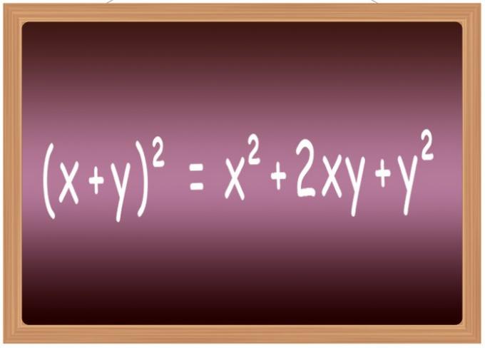 Как обнаружить квадрат уравнения