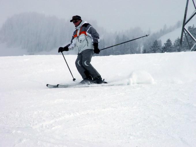 Как научиться быстро ездить на лыжах