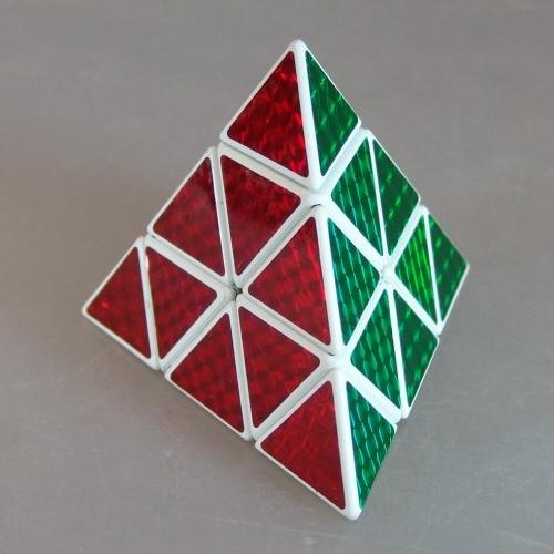"""Как собрать головоломку """"пирамида"""""""