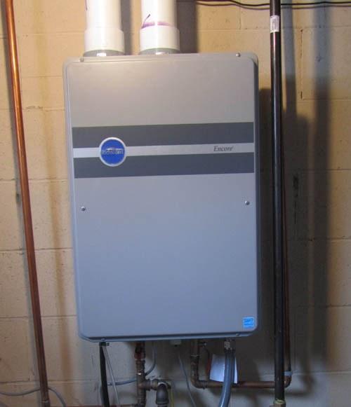 Как установить газовый водонагреватель