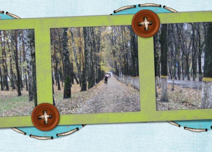 Как вставить фото в готовую рамку