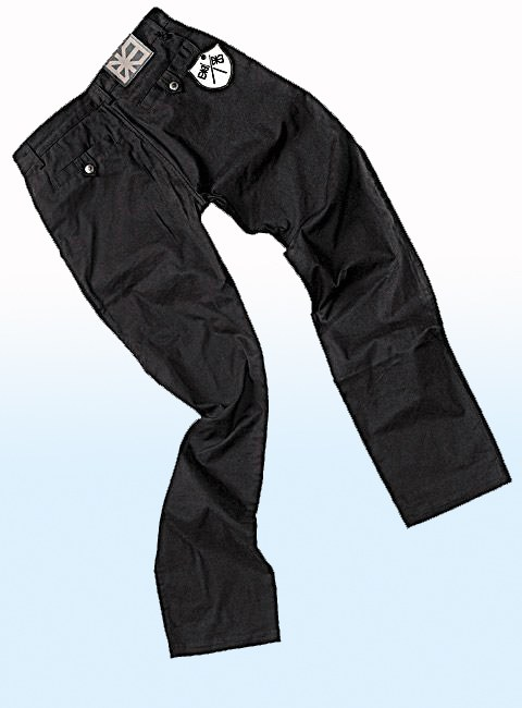 How to dye black pants