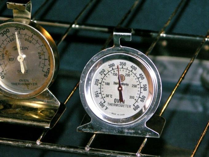 Как определить градусы на плите