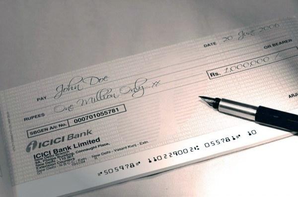 Как получить чековую книжку