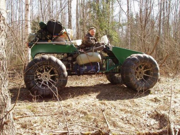 Как сделать колёса низкого давления