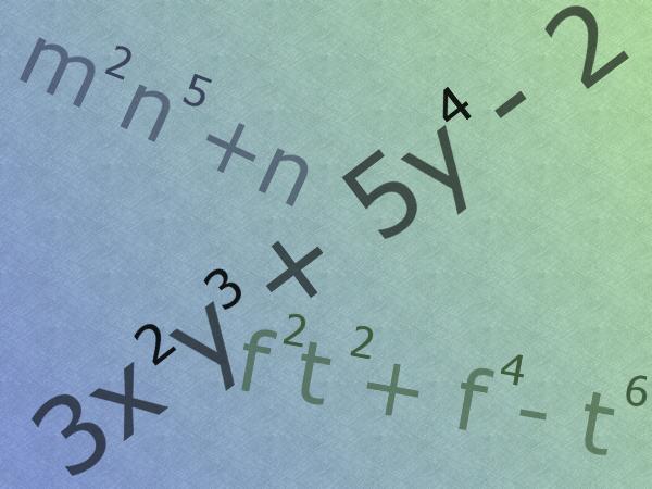 Как найти степень многочлена
