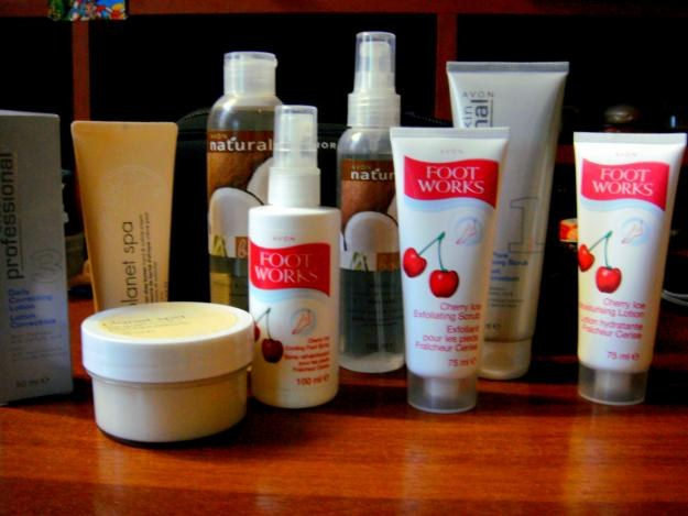 How to order Avon products through the Internet