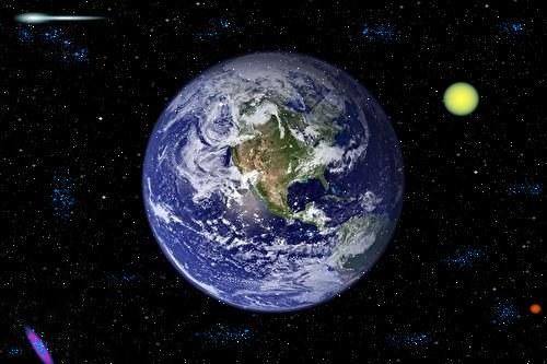 Почему вращается Земля