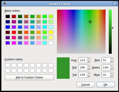 Как поменять цвет кнопки